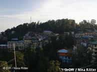 西藏流亡政府所在地达兰萨拉