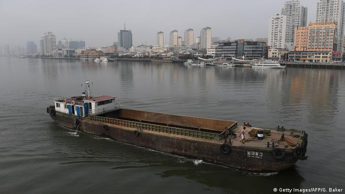 A North Korean ship in China (Getty Images/AFP/G. Baker)