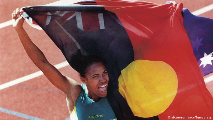 Australien Cathy Freeman (picture-alliance/Zumapress)
