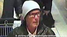 Security camera picture of a police suspect (picture-alliance/dpa/Polizeipräsidium Konstanz)