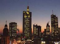 Франкфурт-на-Майне, вид на деловой центр