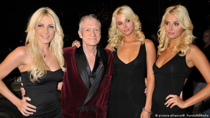 Hugh Hefner (picture-alliance/B. Purvis/AdMedia)