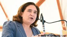 Spanien Bürgermeisterin Barcelonas Ada Colau
