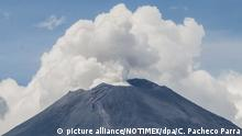 Vulkan Popocatepetl in Mexiko