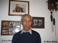 Jampa Kelsang Phukang, Tibetologiedozent an der Uni Bonn. Foto Nina Ritter f. DW undatiert