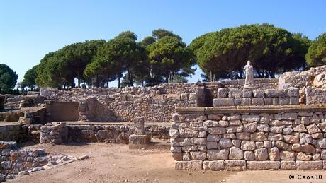 Griechische Ruinen in Ampuries, Katalonien (Caos30)