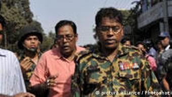 Touhidul Alam Führer der BDR in Bangladesch wird festgenommen