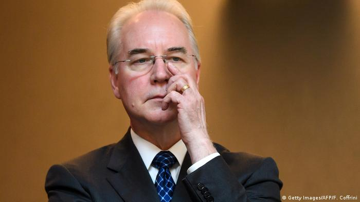 USA - Gesundheitsminister Tom Price (Getty Images/AFP/F. Coffrini)