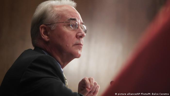 USA - Gesundheitsminister Tom Price (picture alliance/AP Photo/M. Balce Cenetra)