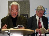 多多和顾彬教授(右)不久前在杜塞尔多夫