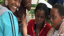 Matasa 'yan wasan kwaikwayo a Rwanda