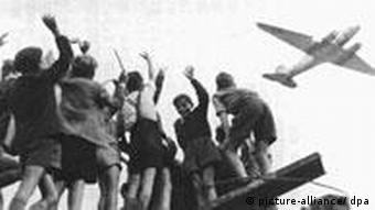 historic photo of the Berlin Airlift