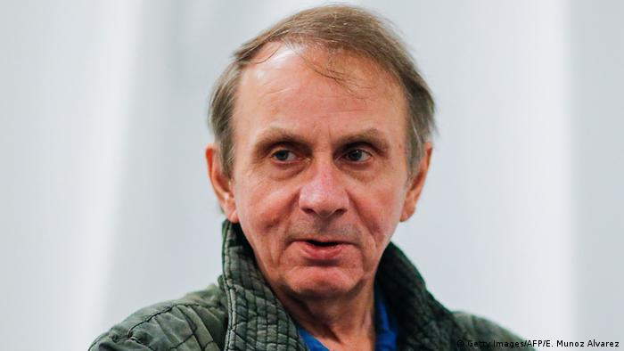 Michel Houellebecq Portrait (Getty Images/AFP/E. Munoz Alvarez)