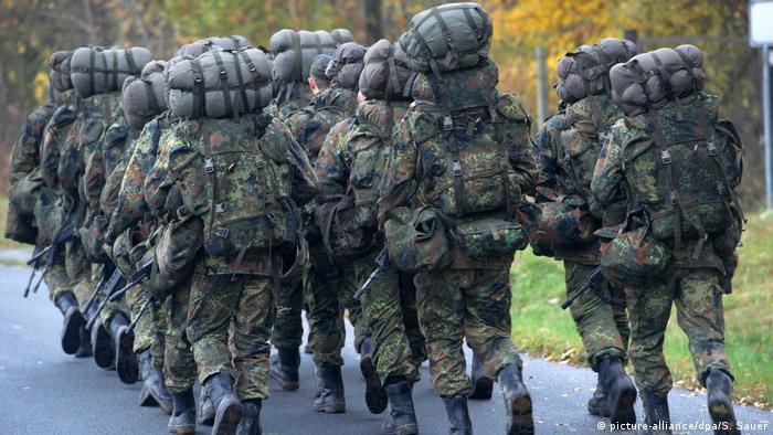 Символическая картинка: солдаты бундесвера