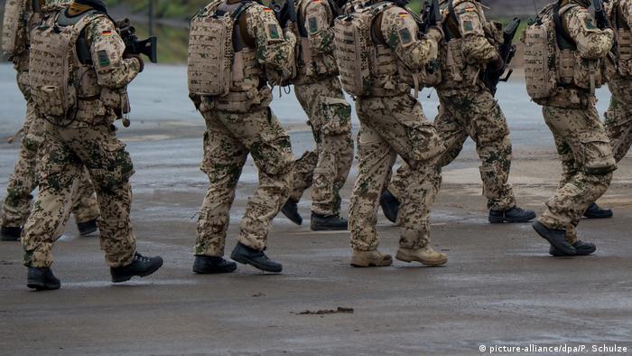 Bundeswehr soldiers in Munster