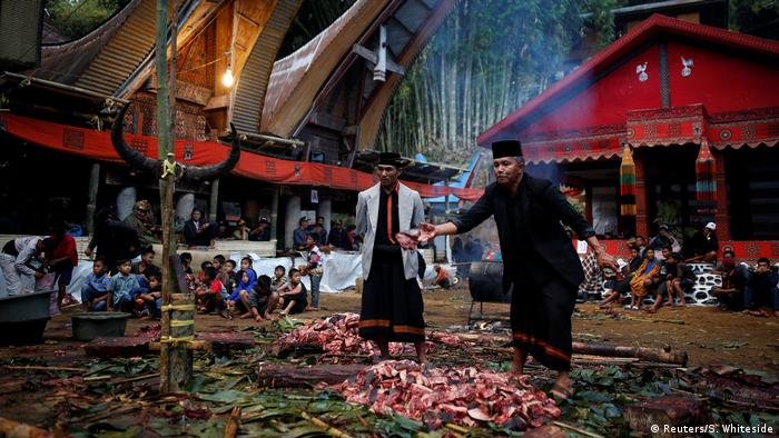 Indonesien Begräbniskultur der Toraja (Reuters/S. Whiteside)