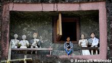 Indonesien Begräbniskultur der Toraja