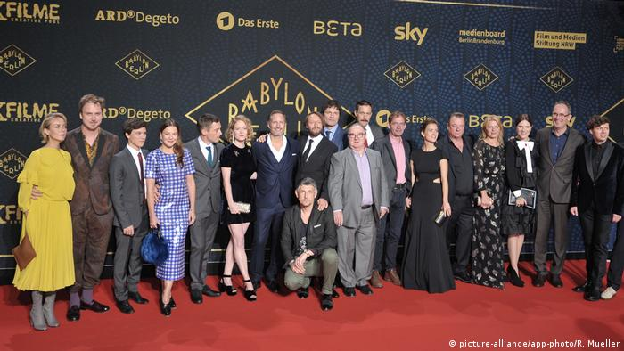 Premiere of Babylon Berlin (picture-alliance/app-photo/R. Mueller)