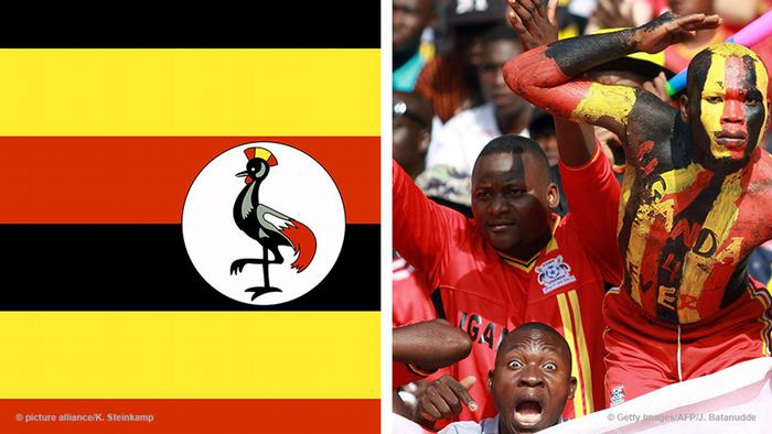 Uganda flag and football fans (Foto: Getty Images)