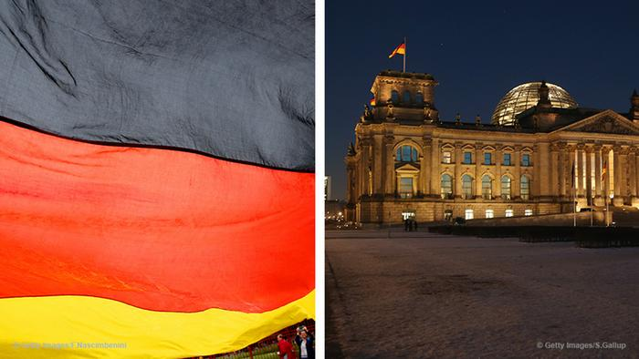 German flag and the Reichstag (Foto: Getty Images)