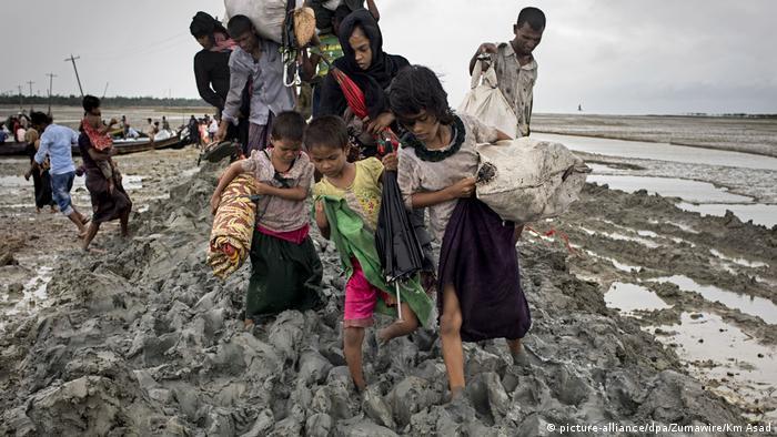 Rohingya-Flüchtlinge in Bangladesch (picture-alliance/dpa/Zumawire/Km Asad)