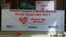 Pakistan - World heart Day in Islamabad (DW/I. Jabeen)