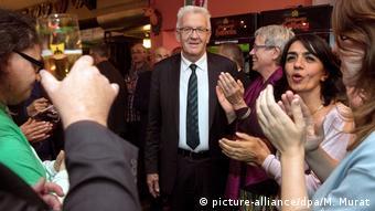 Βίνφριντ Κρέτσμαν, ο πρώτος πράσινος πρωθυπουργός και μάλιστα στο παραδοσιακά συντηρητικό κρατίδιο της Βάδης-Βυρτεμβέργης