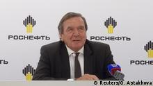 Russland St. Petersburg Schröder in Aufsichtsrat Rosneft gewählt