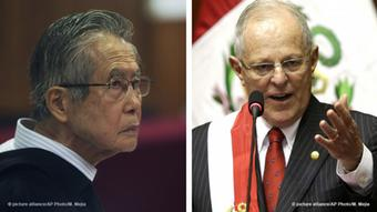 Kombobild - Alberto Fujimori und Pedro Pablo Kuczynski