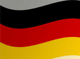 Photograph of the German flag