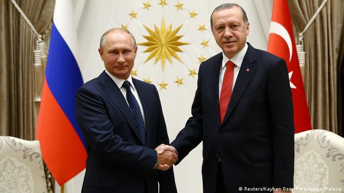 Türkei Treffen Wladimir Putin & Tayyip Erdogan in Ankara (Reuters/Kayhan Ozer/Presidential Palace)