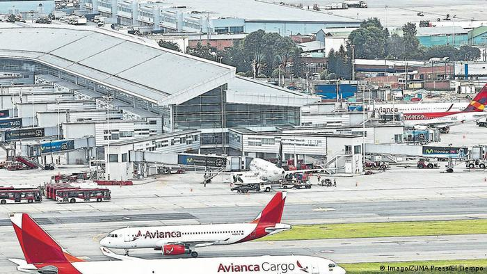 Kolumbien Flughafen El Dorado in Bogota