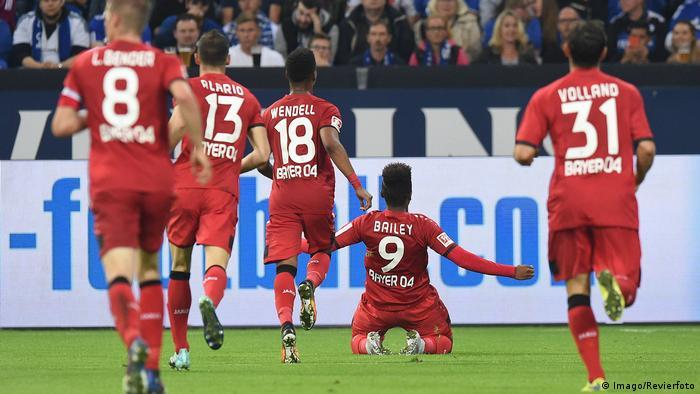 1. Bundesliga 7. Spieltag | FC Schalke 04 - Bayer Leverkusen (Imago/Revierfoto)