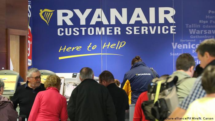 Ryanair Schalter
