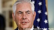 Rex Tillerson (picture-alliance/AP Photo/J. Martin)