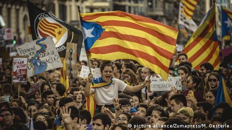 DW: Δεν υπάρχει δικαίωμα στην απόσχιση της Καταλονίας