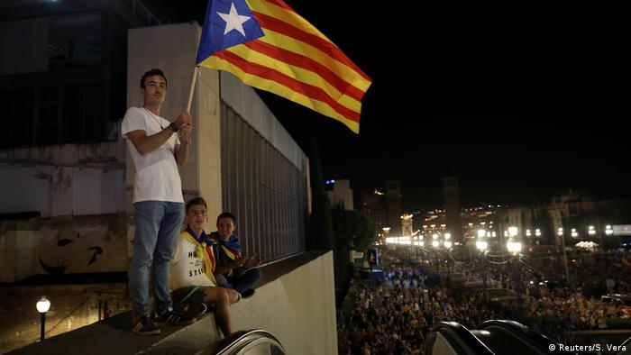 Spanien Referendum Katalonien Demonstration (Reuters/S. Vera)