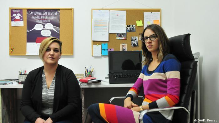 Kroatien Aktivistinnen Maja Sikirica und Iva Catipovic