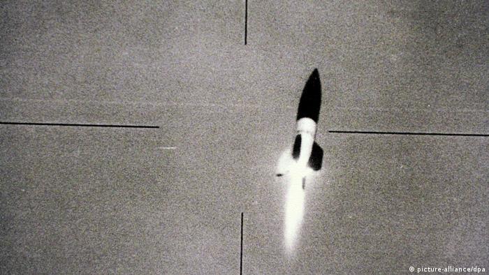 V-2 Rakete im Visier