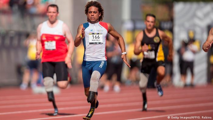 Invictus Games Toronto 2017 - Mickael Mayali (Getty Images/AFP/G. Robins)