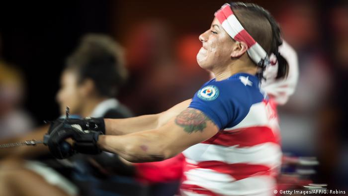 Invictus Games Toronto 2017 - Rudern - Tiana Lopez (Getty Images/AFP/G. Robins)