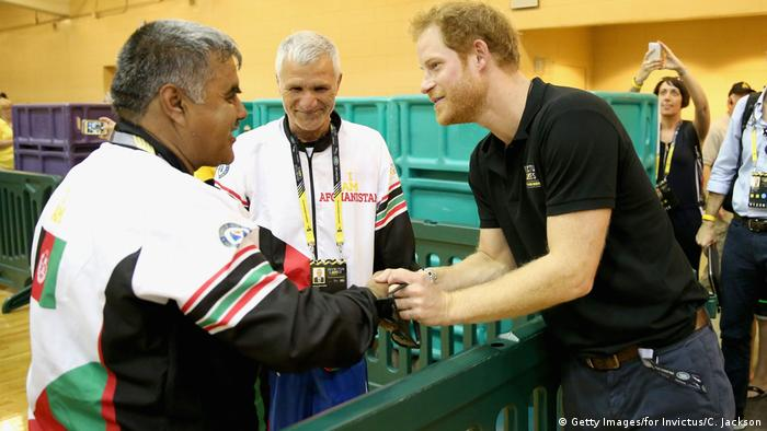 Invictus Games Orlando 2016 - Prince Harry trifft das Afghanische Team (Getty Images/for Invictus/C. Jackson)