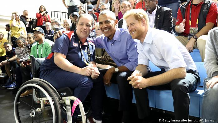 Invictus Games Toronto 2017 - Barack Obama und Prince Harry (Getty Images/for Invictus/C. Jackson)