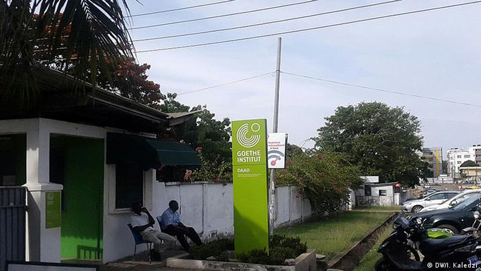 Goethe Institute in Accra (DW/I. Kaledzi)