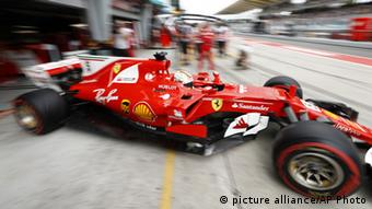 Sebastian Vettel Formel 1 in Sepang Malaysia (picture alliance/AP Photo)