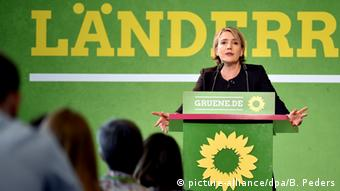 Länderrat Bündnis 90/Die Grünen Simone Peter (picture-alliance/dpa/B. Peders)