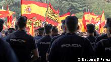Spanien Referendum Katalonien Demonstration - Polizei