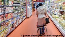 Deutschland Symbolbild Supermarkt