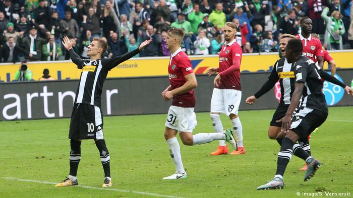 Deutschland 1 Fussball Bundesliga Borussia Mönchengladbach Hannover 96 | Thorgan Hazard (imago/S. Wensierski)