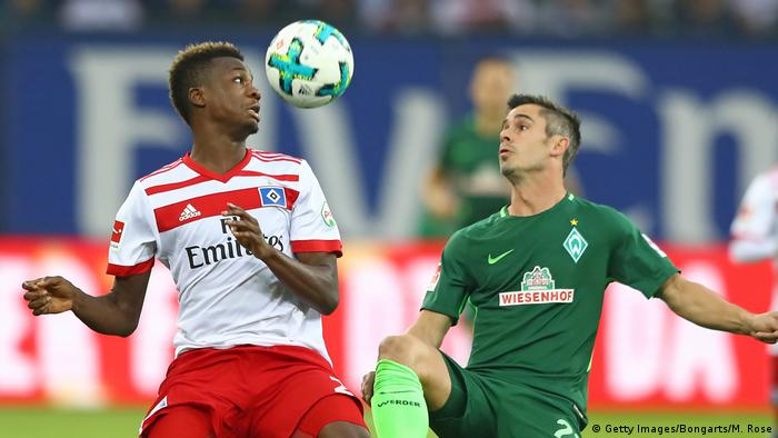 Deutschland Hamburger SV v SV Werder Bremen - Bundesliga (Getty Images/Bongarts/M. Rose)